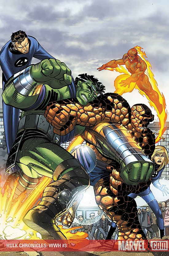 Hulk Chronicles: Wwh (2008) #3