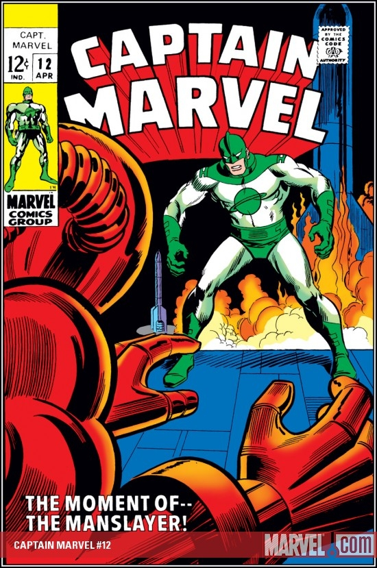 Captain Marvel (1968) #12