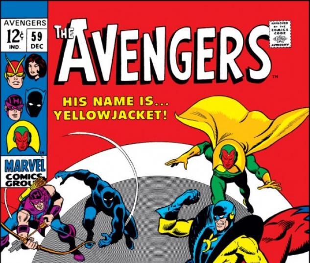 AVENGERS #59 COVER