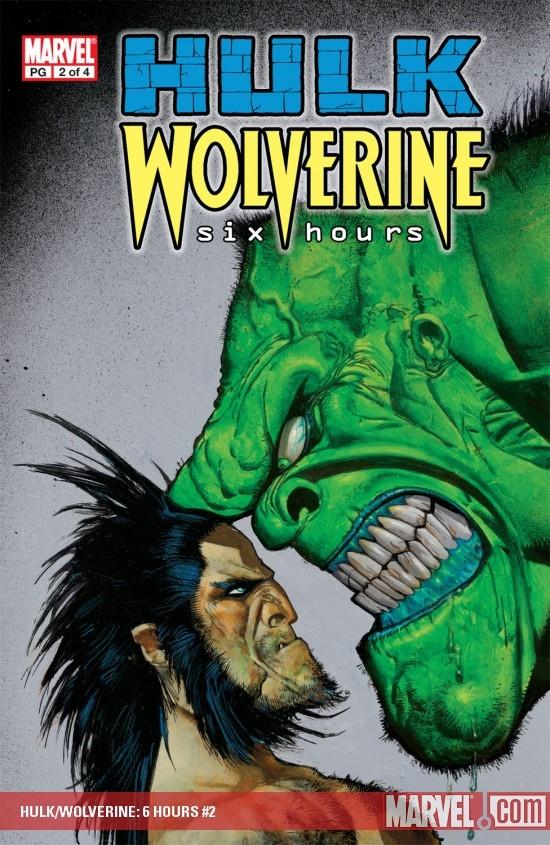 Hulk/Wolverine: Six Hours (2003) #2