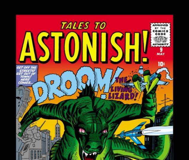 Tales to Astonish #9