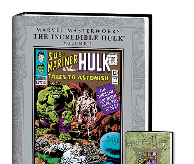 MARVEL MASTERWORKS: THE INCREDIBLE HULK VOL. 2 COVER