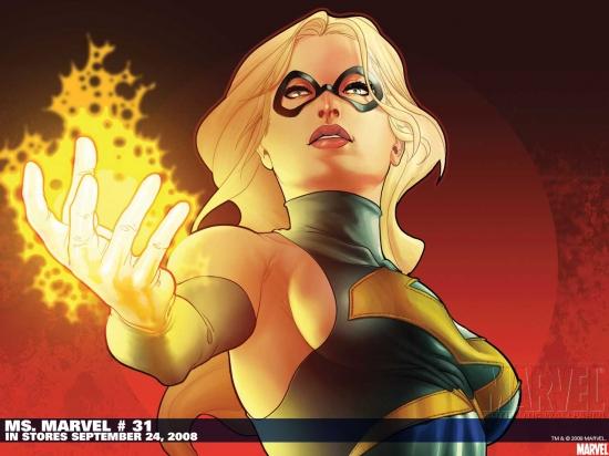 Ms. Marvel (2006) #31 Wallpaper