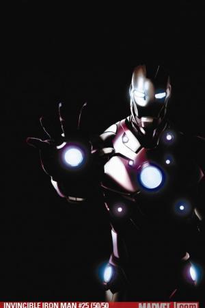 Invincible Iron Man (2008) #25 (50/50 VARIANT)