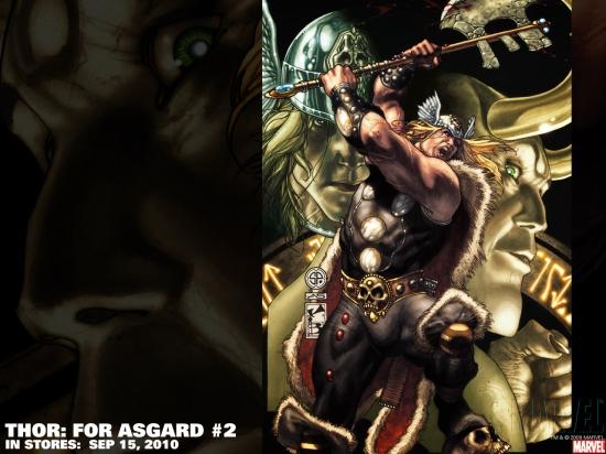 Thor: For Asgard (2010) #2 Wallpaper