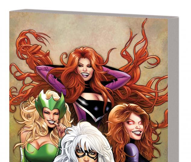 Cover From Women of Marvel: Celebrating Seven Decades Fradon Variant