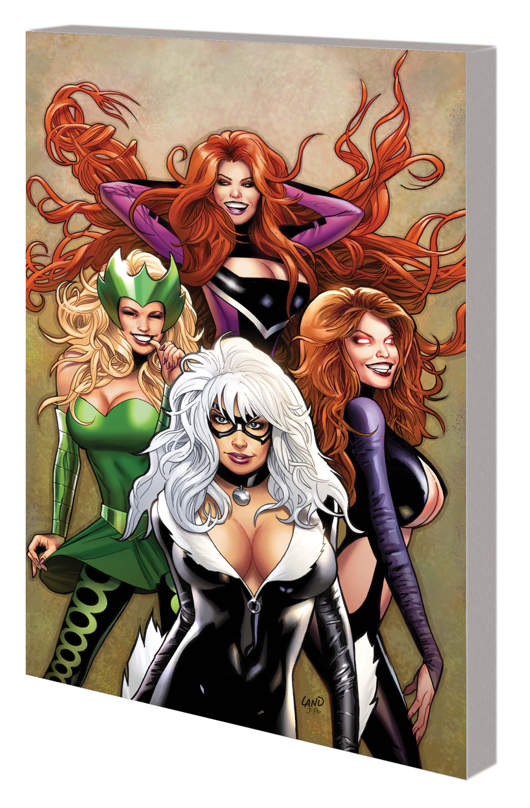 Women of Marvel: Celebrating Seven Decades Fradon Cover (DM Only) (Hardcover)