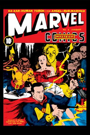 Marvel Mystery Comics #3
