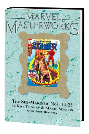 Marvel Masterworks: The Sub-Mariner Vol. 4 HC Variant (Hardcover)
