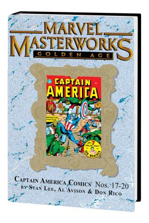 Marvel Masterworks: Golden Age Captain America Vol. 5 (Variant) (Hardcover)