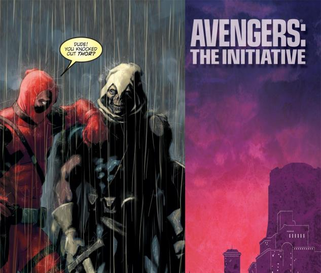 Avengers: The Initiative (2007) #33, Deadpool Variant