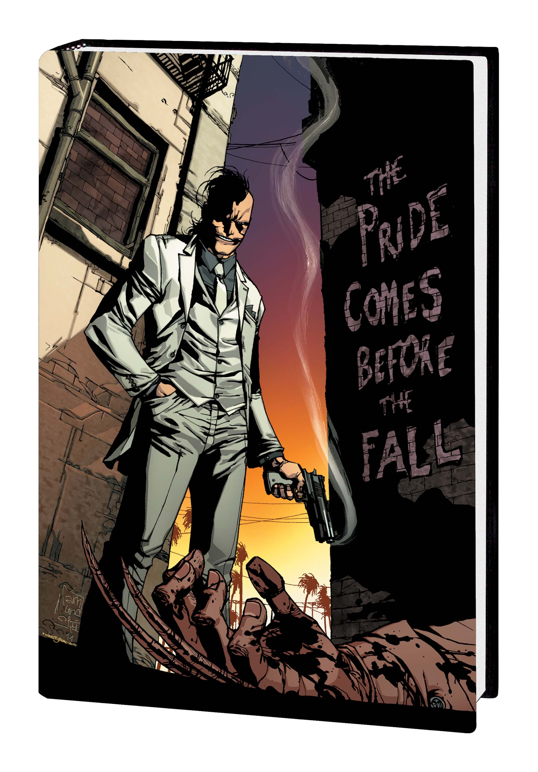 DAKEN: DARK WOLVERINE — THE PRIDE COMES BEFORE THE FALL PREMIERE HC (Hardcover)