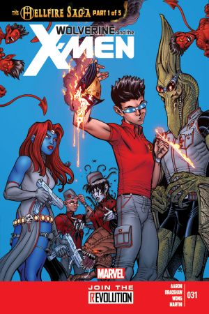 Wolverine & the X-Men #31