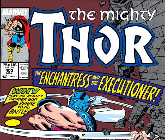 Thor (1966) #403 Cover