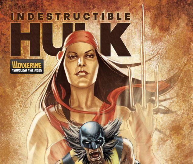 INDESTRUCTIBLE HULK 9 ROUX WOLVERINE COSTUME VARIANT (NOW, 1 FOR 20, WITH DIGITAL CODE)