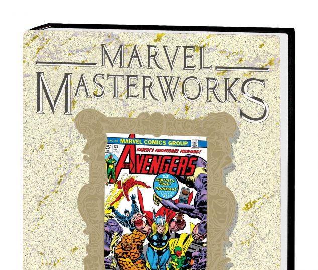 MARVEL MASTERWORKS: THE AVENGERS VOL. 13 HC VARIANT (DM ONLY)
