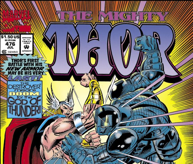 Thor (1966) #476 Cover
