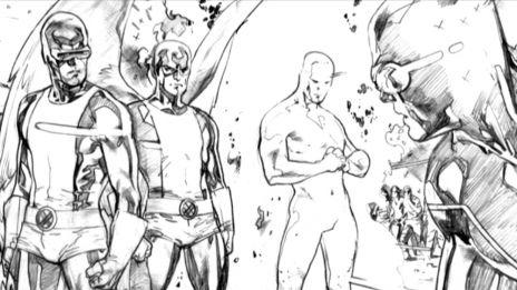 Marvel AR: All-New X-Men #3 Art Evolution
