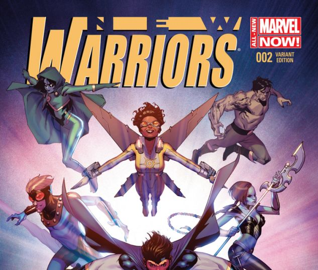 NEW WARRIORS 2 MOLINA VARIANT (ANMN, WITH DIGITAL CODE)