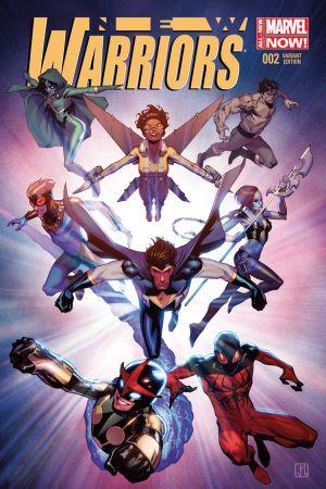 New Warriors (2014) #2 (Molina Variant)