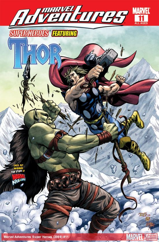 Marvel Adventures Super Heroes (2008) #11