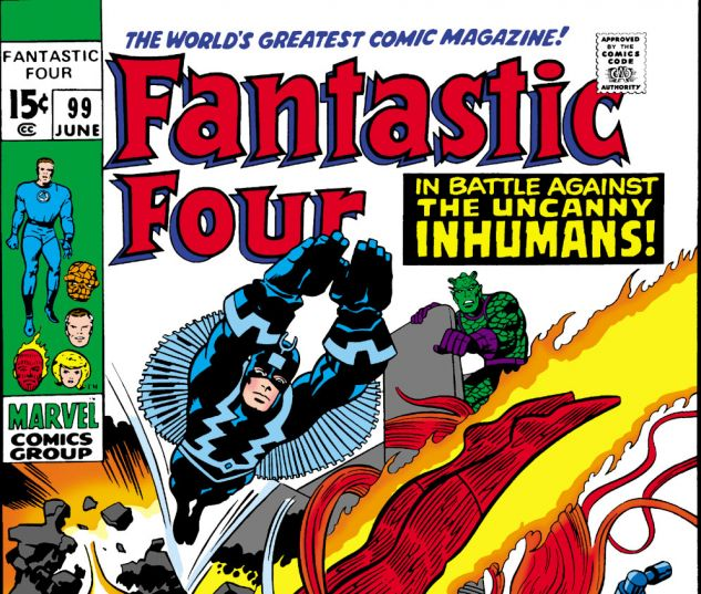 Fantastic Four (1961) #99 Cover