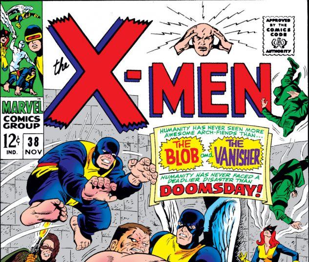Uncanny X-Men (1963) #38 Cover