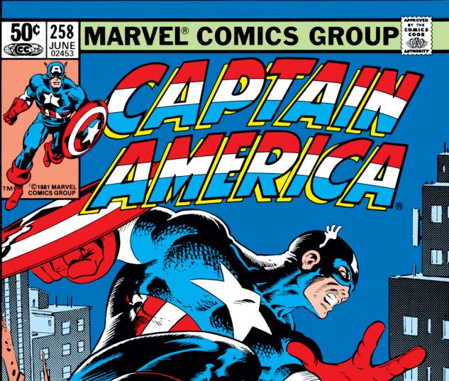 Captain America (1968) #258 Cover