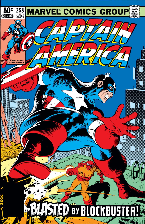 Captain America (1968) #258