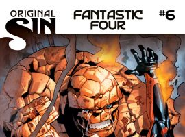 Fantastic Four (2014) #6 cover by Leonard Kirk