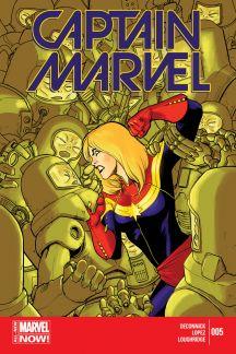 Captain Marvel (2014) #5