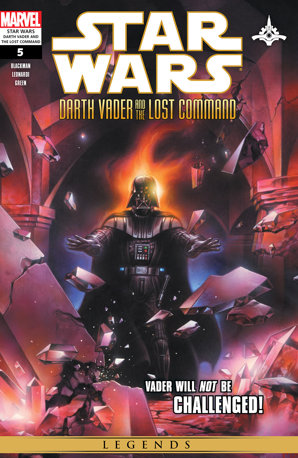 Star Wars: Darth Vader And The Lost Command (2011) #5