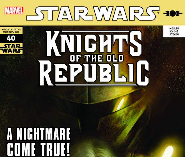 Star Wars: Knights Of The Old Republic (2006) #40