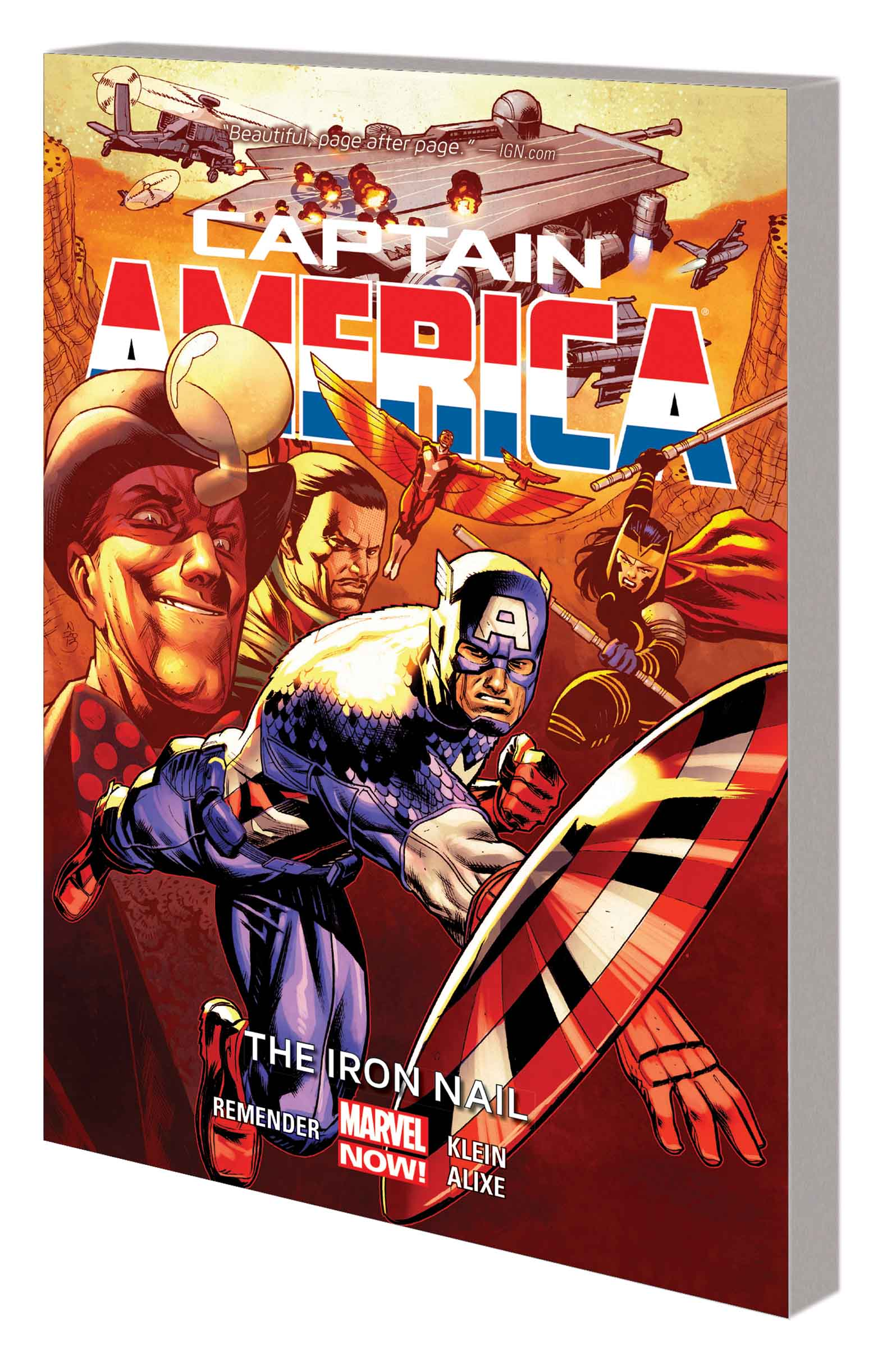 Captain America: The Iron Nail (Trade Paperback)