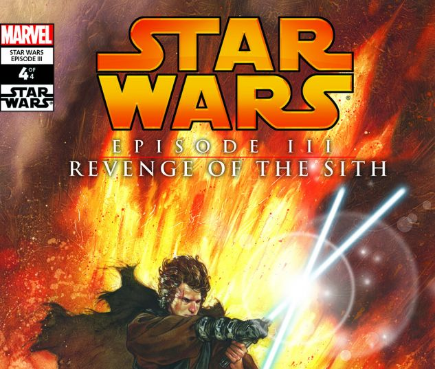 cover from Star Wars: Episode III - Revenge Of The Sith (2005) #4