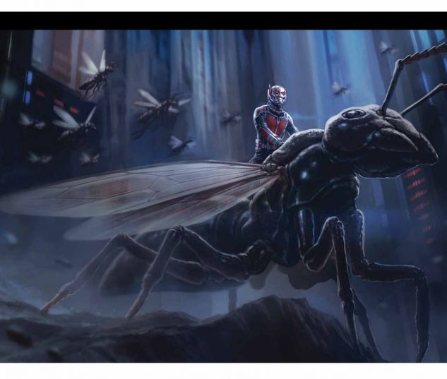 MARVEL'S ANT-MAN: THE ART OF THE MOVIE HC SLIPCASE