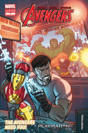 The Avengers in GEARING UP (2015) #1