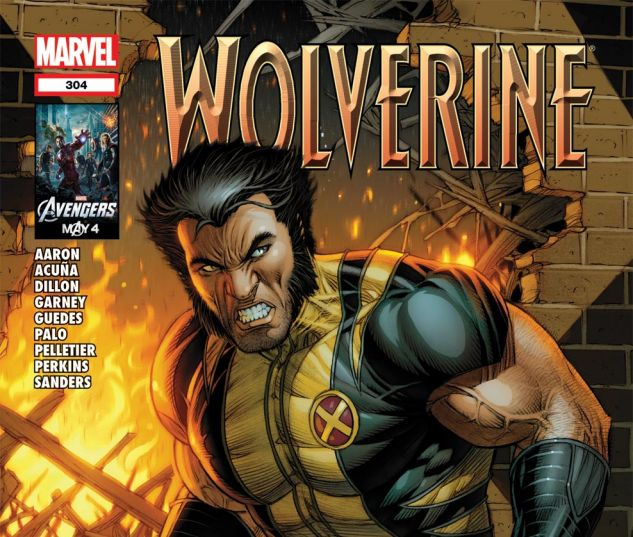 WOLVERINE (2010) #304 Cover
