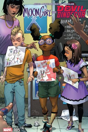 Moon Girl and Devil Dinosaur (2015) #5