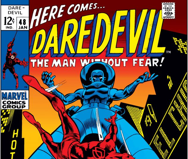 DAREDEVIL (1964) #48 Cover
