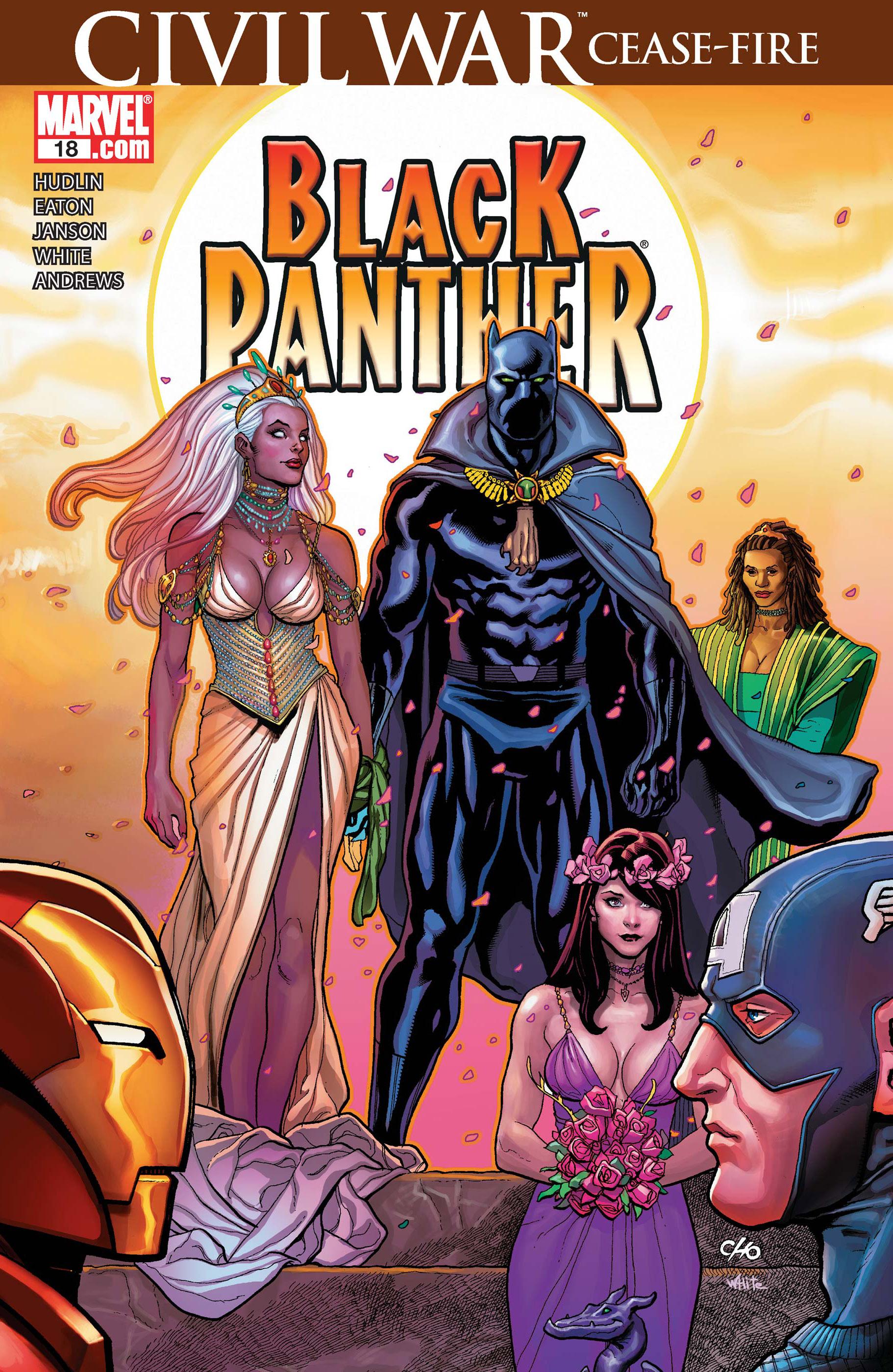 Black Panther (2005) #18