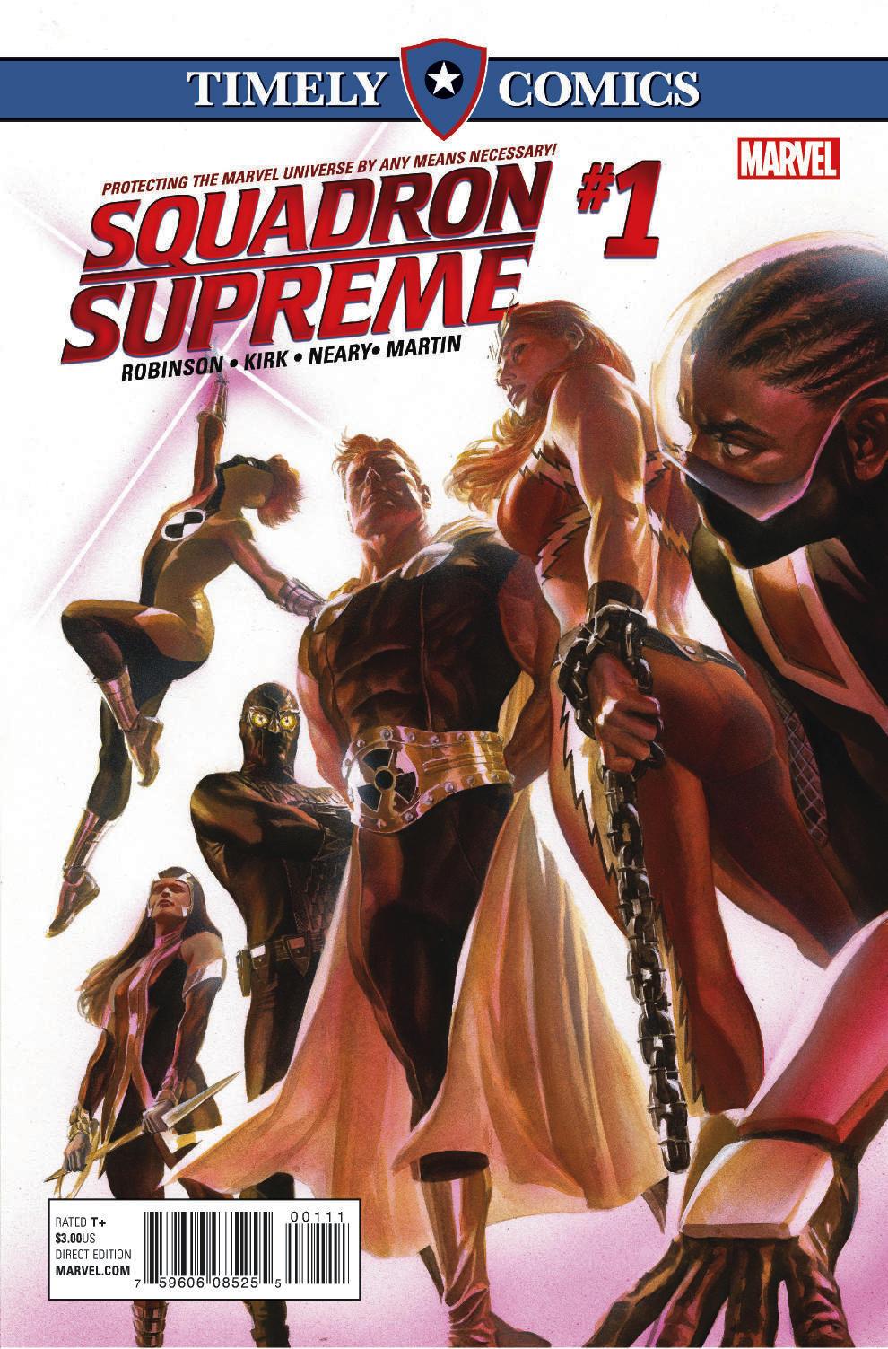 Timely Comics: Squadron Supreme (2016) #1