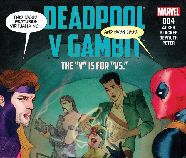 cover from Deadpool Vs. Gambit (2016) #4
