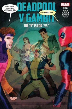Deadpool V Gambit (2016) #4