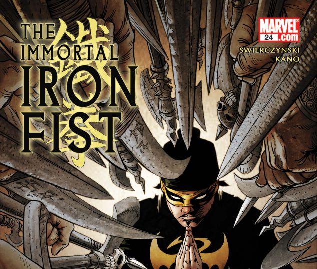 THE IMMORTAL IRON FIST (2006) #24