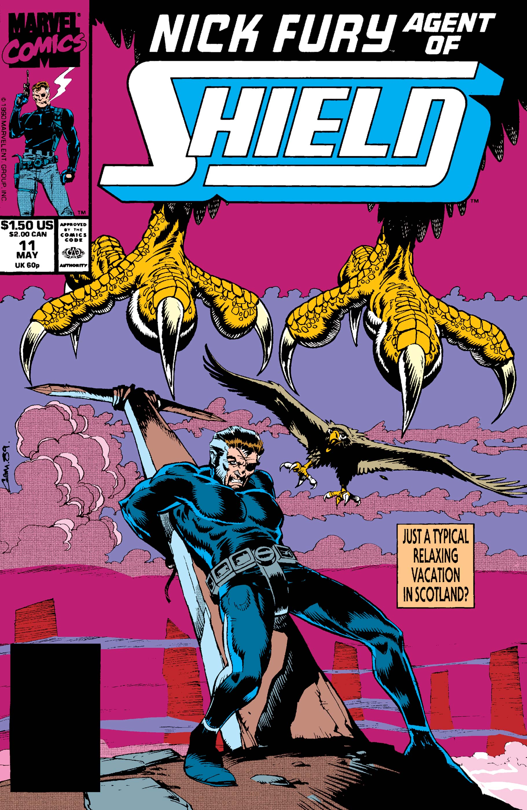 Nick Fury, Agent of S.H.I.E.L.D. (1989) #11