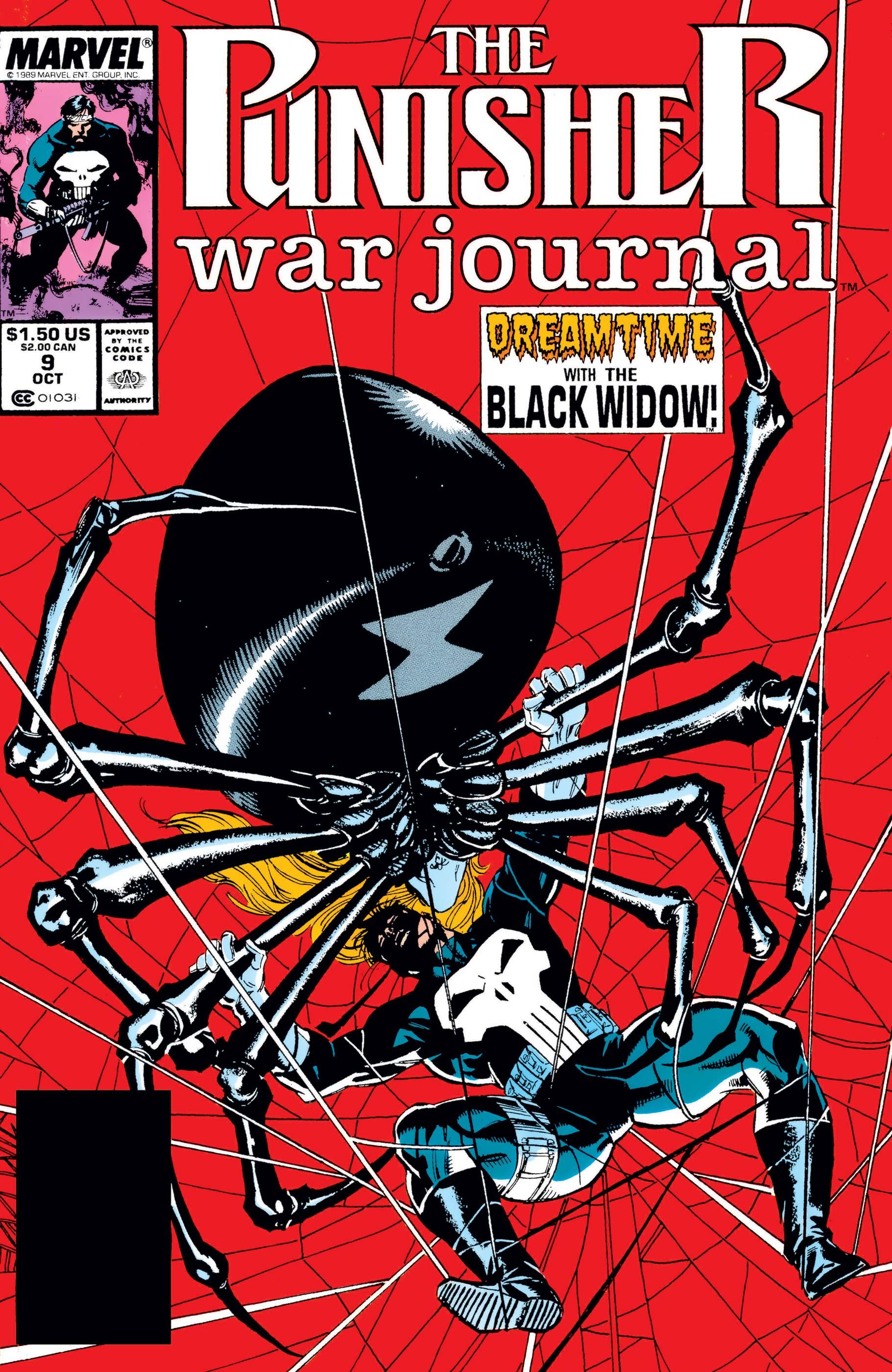 Punisher War Journal (1988) #9