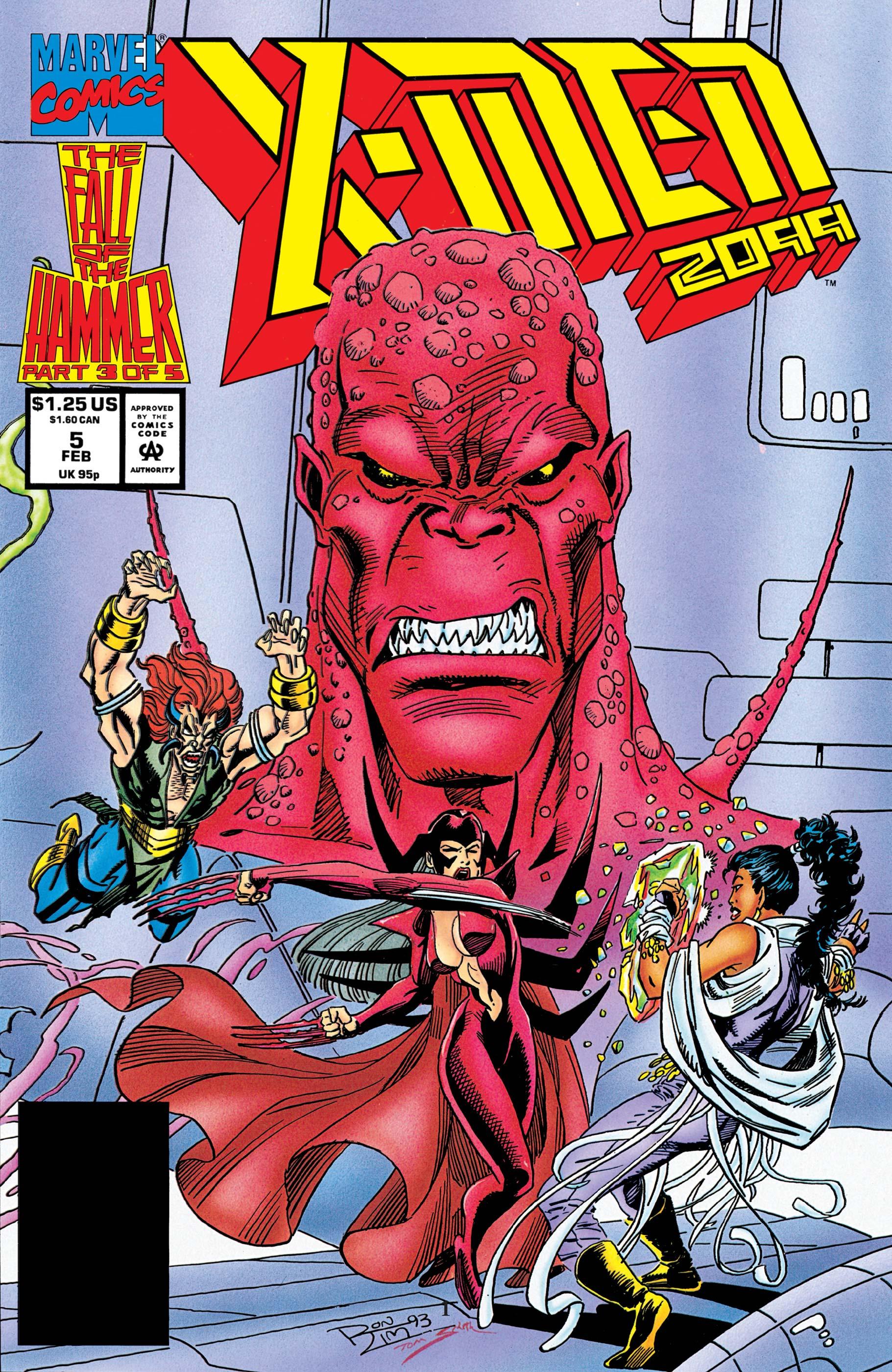 X-Men 2099 (1993) #5