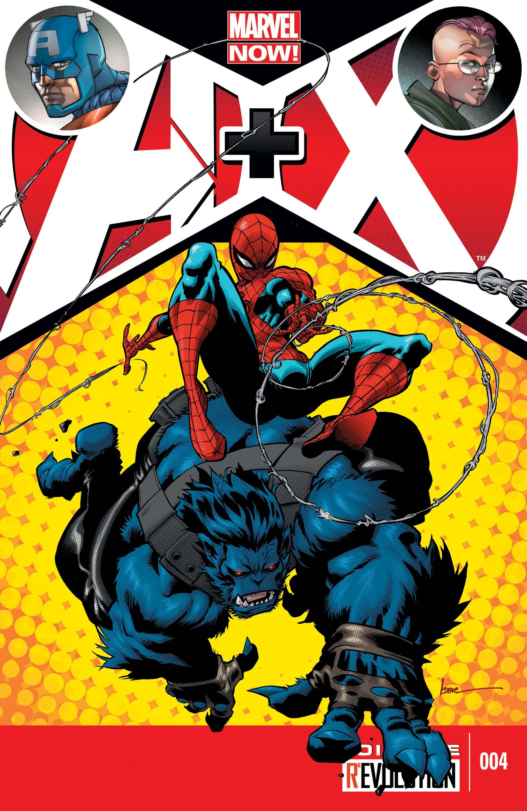 A+X (2012) #4