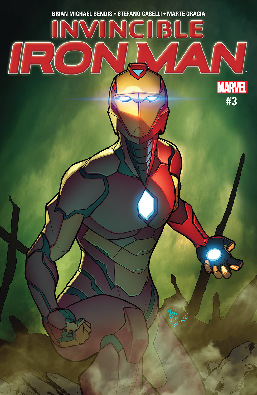 Invincible Iron Man (2016) #3